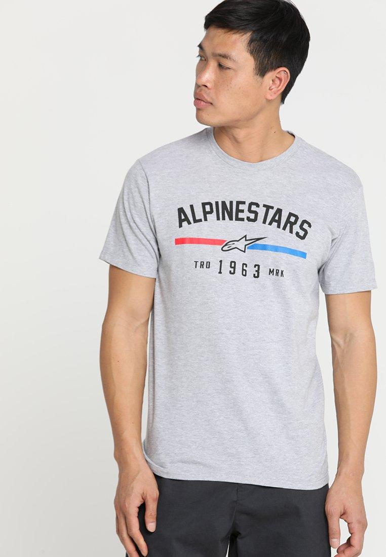 Alpinestars - BETTERNESS TEE - Print T-shirt - grey heather