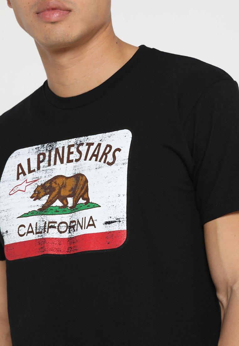 Alpinestars CALI TEE T shirt imprimé black ZALANDO.FR