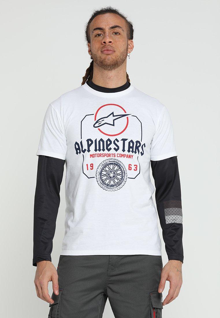 Alpinestars - TEE - Print T-shirt - white