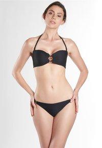 Aubade - MINI-CŒUR  - Bas de bikini - black - 1