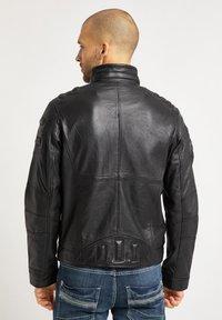 Bruno Banani - Leather jacket - schwarz - 2