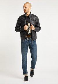 Bruno Banani - Leather jacket - schwarz - 1
