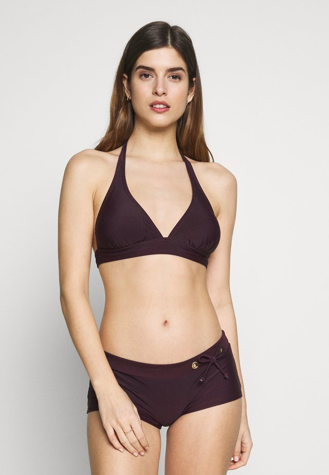 TRIANGLE SET - Bikinier - bordeaux