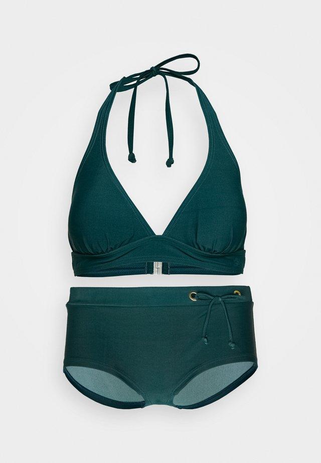 TRIANGLE SET - Bikinier - green