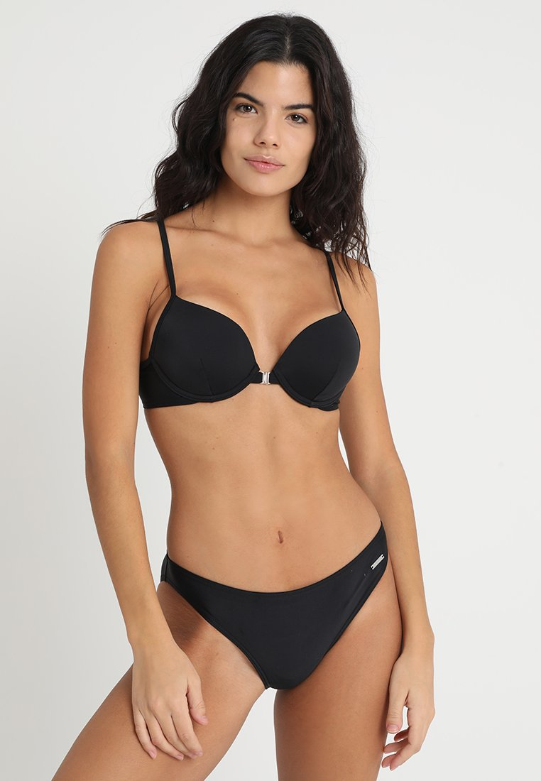 Bruno Banani - ALEXA PUSH UP SET - Bikini - black