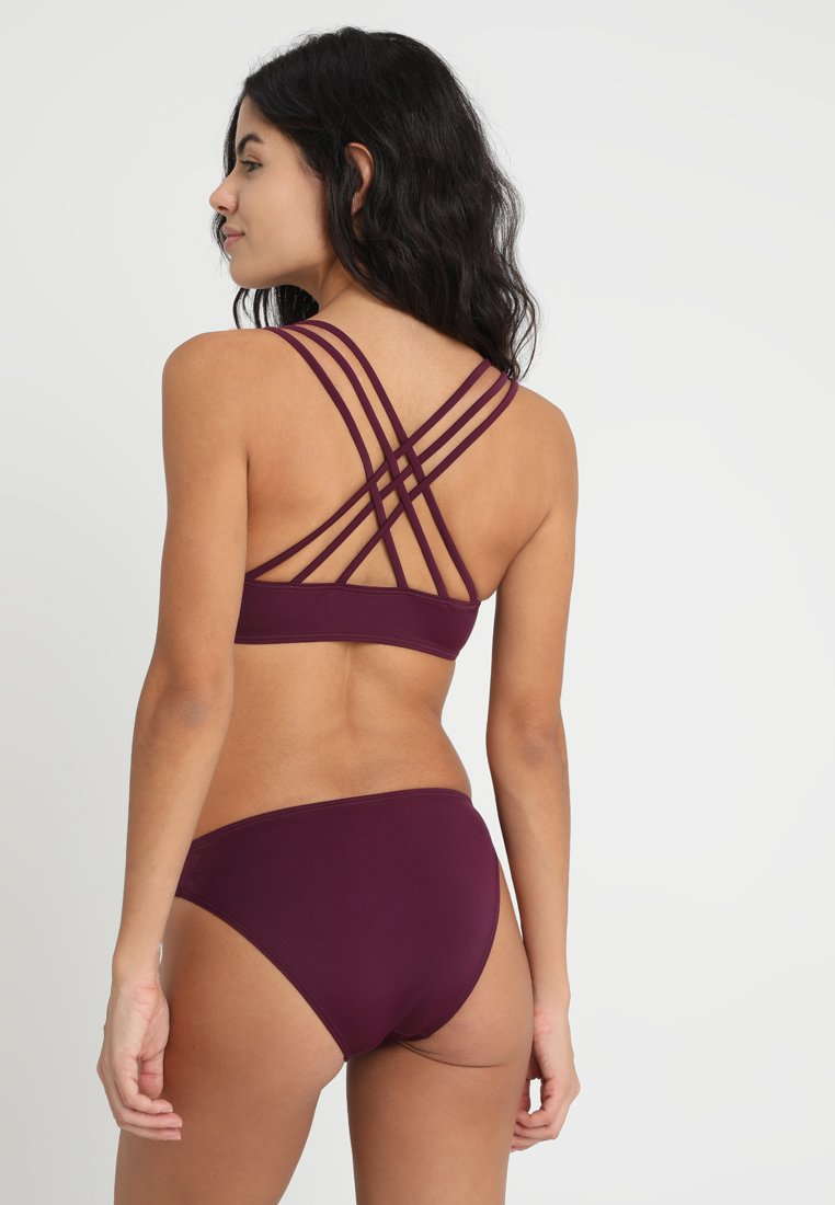Bruno Banani ALEXA BUSTIER SET - Bikini - bordeaux
