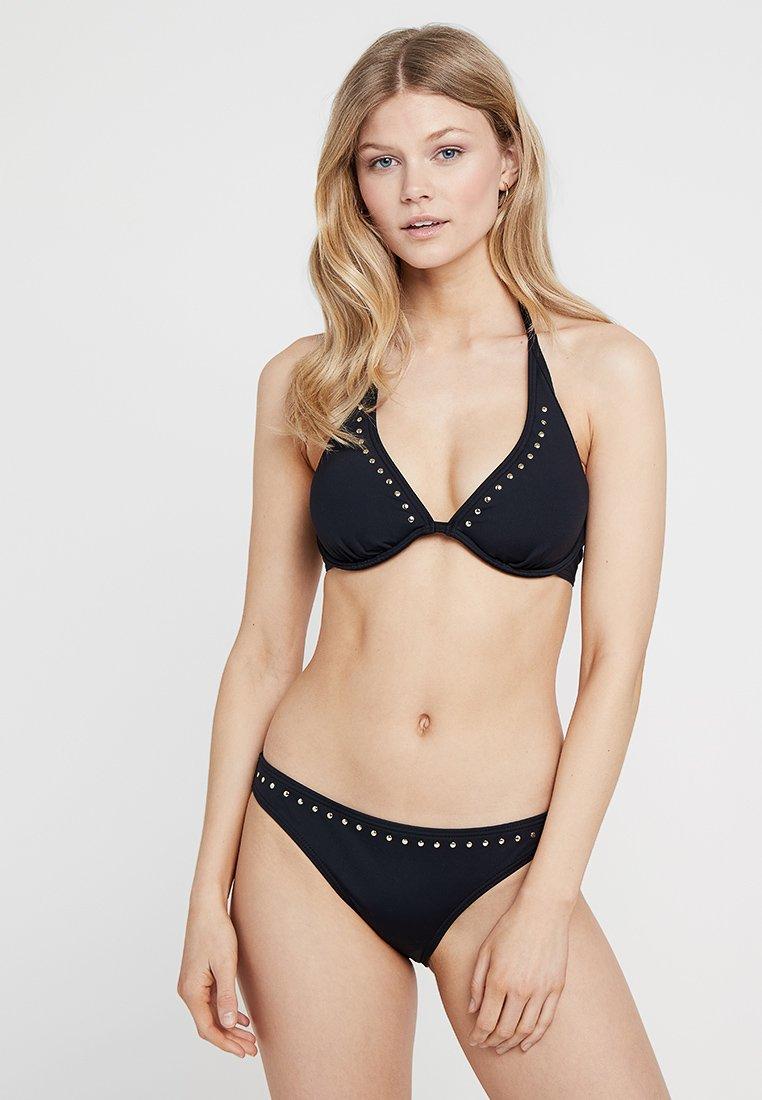 Bruno Banani - WIRE SET - Bikinit - black