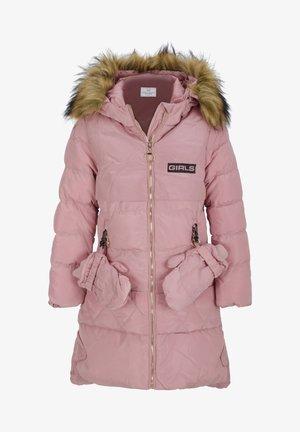 MIT HANDSCHUHEN - Winterjas - pink