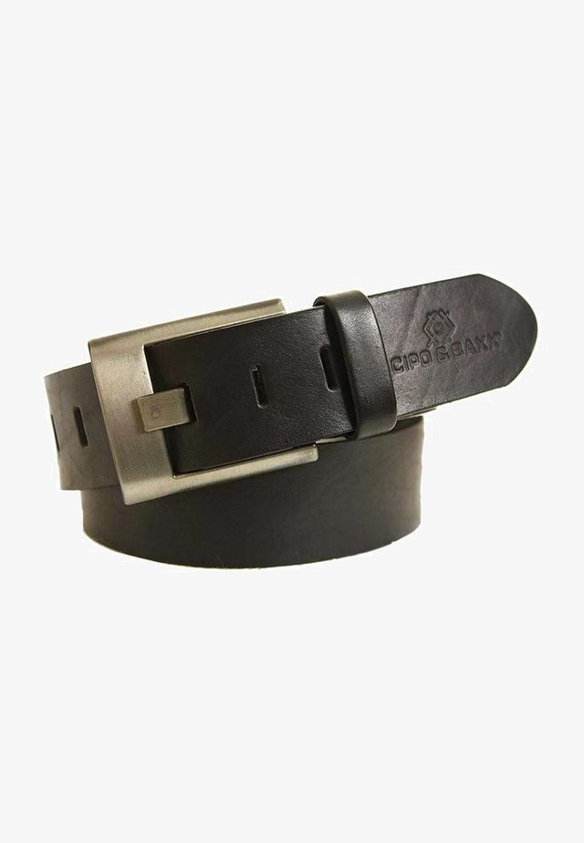 MIT METALLSCHNALLE - Belt - black