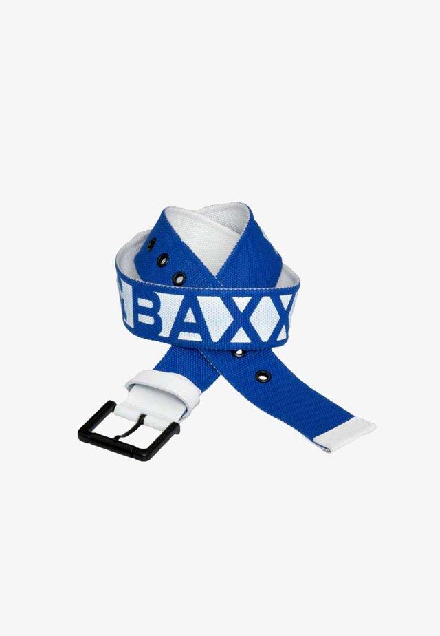 Belt - blue-white