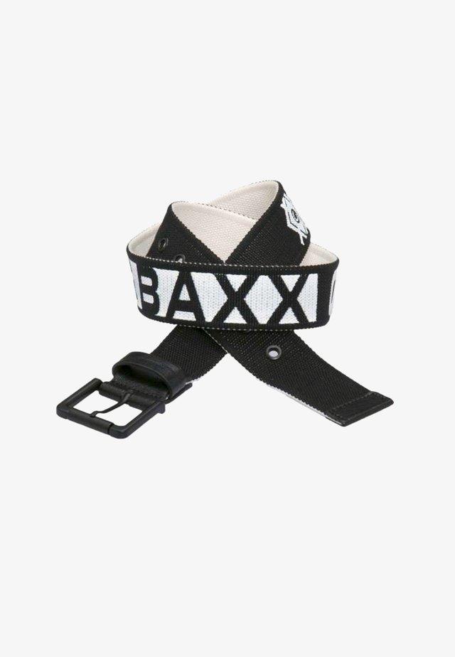 Belt - black-white