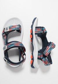 Color Kids - KAMO - Chodecké sandály - marine - 0