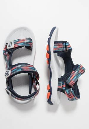 KAMO - Walking sandals - marine