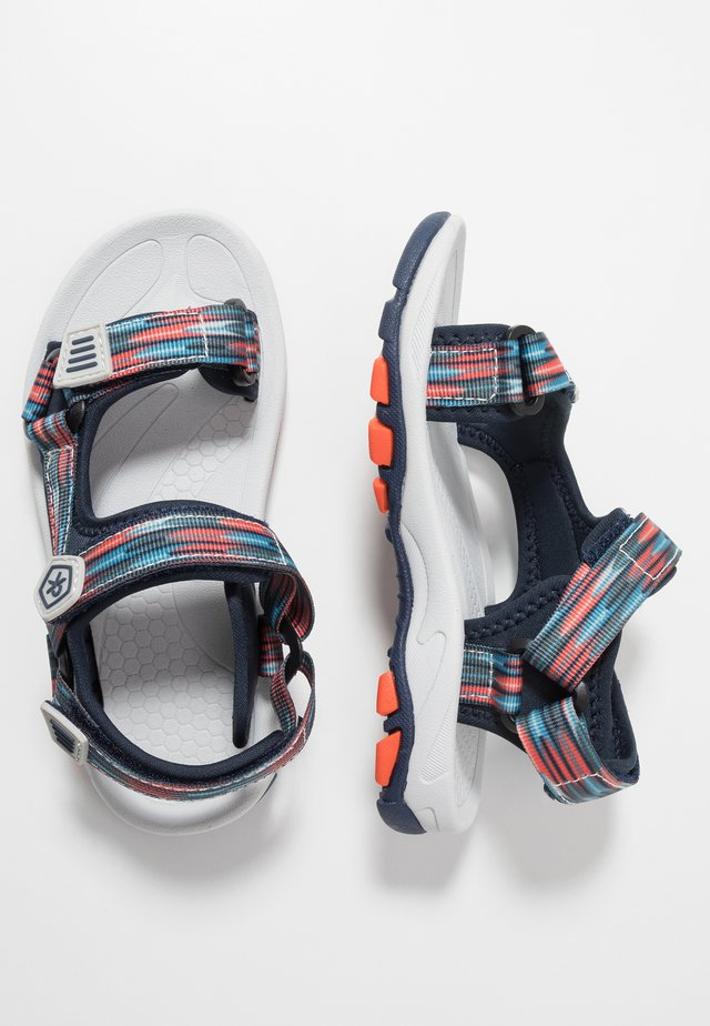 KAMO - Walking sandals - marine
