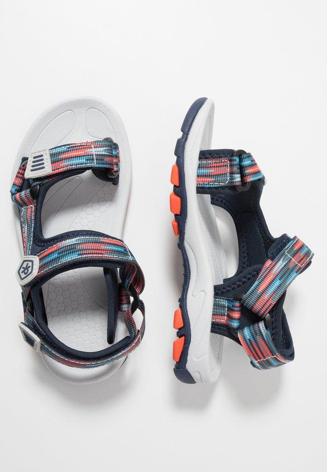 KAMO - Chodecké sandály - marine