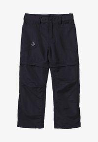 Color Kids - TIGGO ZIP OFF PANTS - Kalhoty - phantom - 4