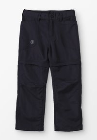 Color Kids - TIGGO ZIP OFF PANTS - Kalhoty - phantom - 0