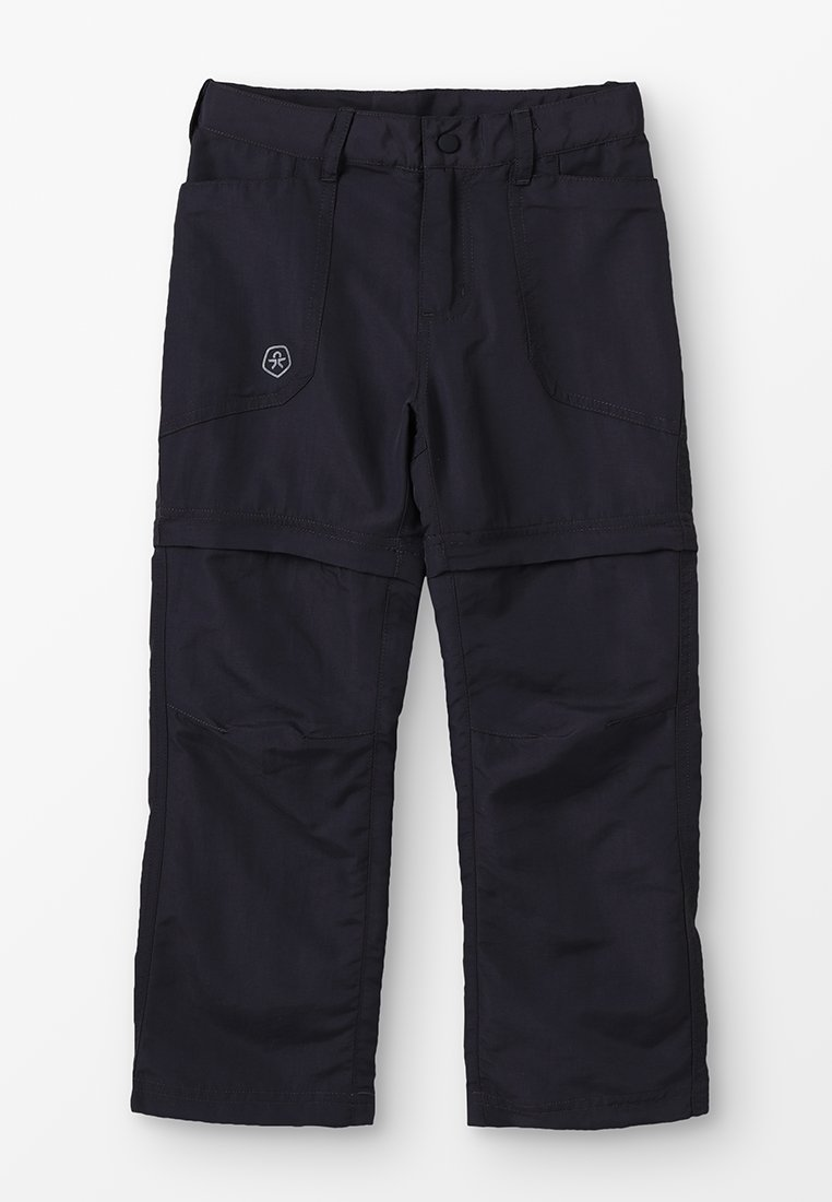 Color Kids - TIGGO ZIP OFF PANTS - Kalhoty - phantom