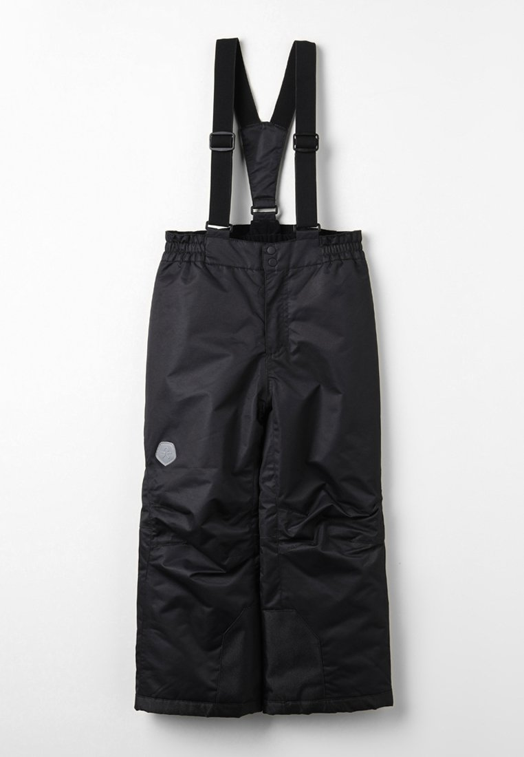 Color Kids - SALIX PADDED SKI PANTS - Pantaloni da neve - black