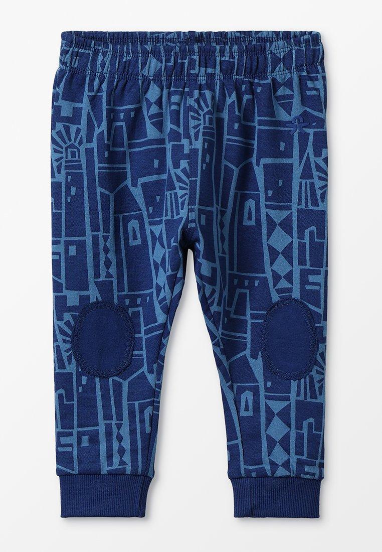 Color Kids - ERNO PANTS - Tracksuit bottoms - estate blue