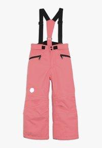 Color Kids - SANGLO PADDED SKI PANTS - Skibroek - sugar coral - 0