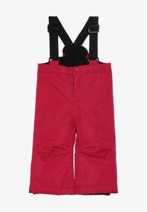 RUNDERLAND MINI SKI PANTS - Pantalón de nieve - raspberry