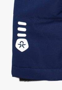 Color Kids - RUNDERLAND MINI SKI PANTS - Zimní kalhoty - estate blue - 3