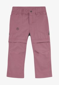 Color Kids - TIGGO ZIP OFF PANTS - Outdoor trousers - tulipwood - 4
