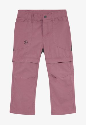 TIGGO ZIP OFF PANTS - Friluftsbyxor - tulipwood