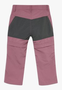 Color Kids - TIGGO ZIP OFF PANTS - Outdoor trousers - tulipwood - 1
