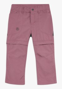 Color Kids - TIGGO ZIP OFF PANTS - Outdoor trousers - tulipwood - 0
