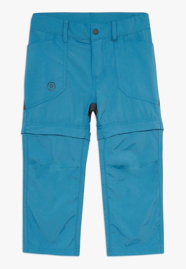 TIGGO ZIP OFF PANTS - Pantaloni outdoor - blue sapphire