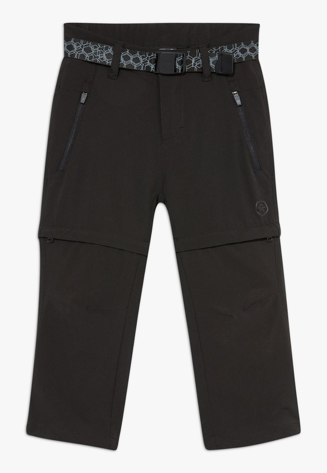 KANYON ZIP OFF PANTS - Stoffhose - black