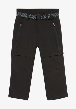 KANYON ZIP OFF PANTS - Trousers - black