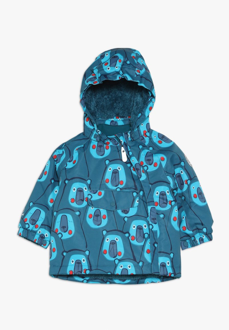 Color Kids - RAIDONI MINI PADDED JACKET - Lyžařská bunda - pirate blue