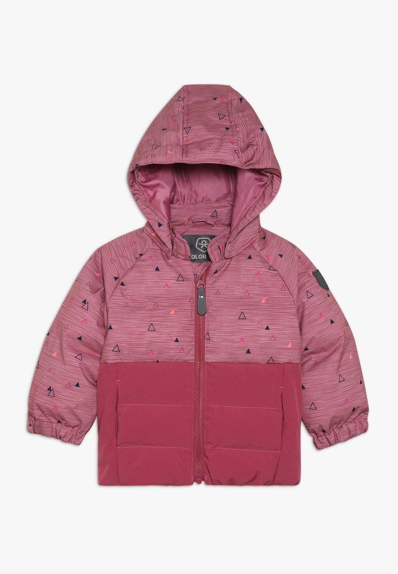 Color Kids - SHEIK MINI PADDED JACKET - Giacca invernale - malaga rose