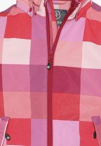 Color Kids - DIKSON PADDED JACKET - Ski jas - raspberry - 4