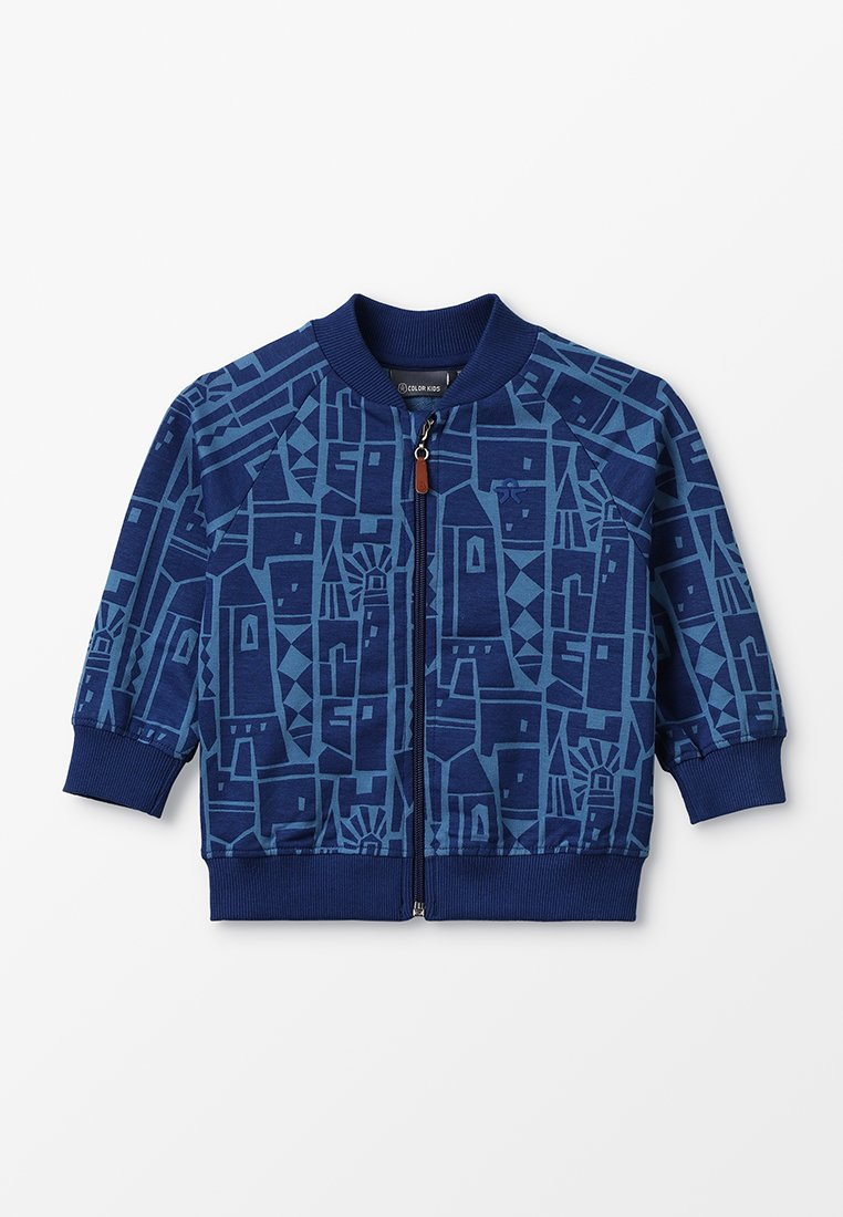 Color Kids - ENIS JACKET - Sweatjakke /Træningstrøjer - estate blue