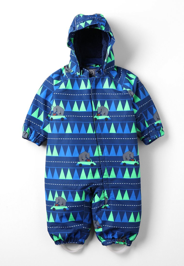 Color Kids - RIMAH MINI PADDED COVERALL - Snowsuit - estate blue