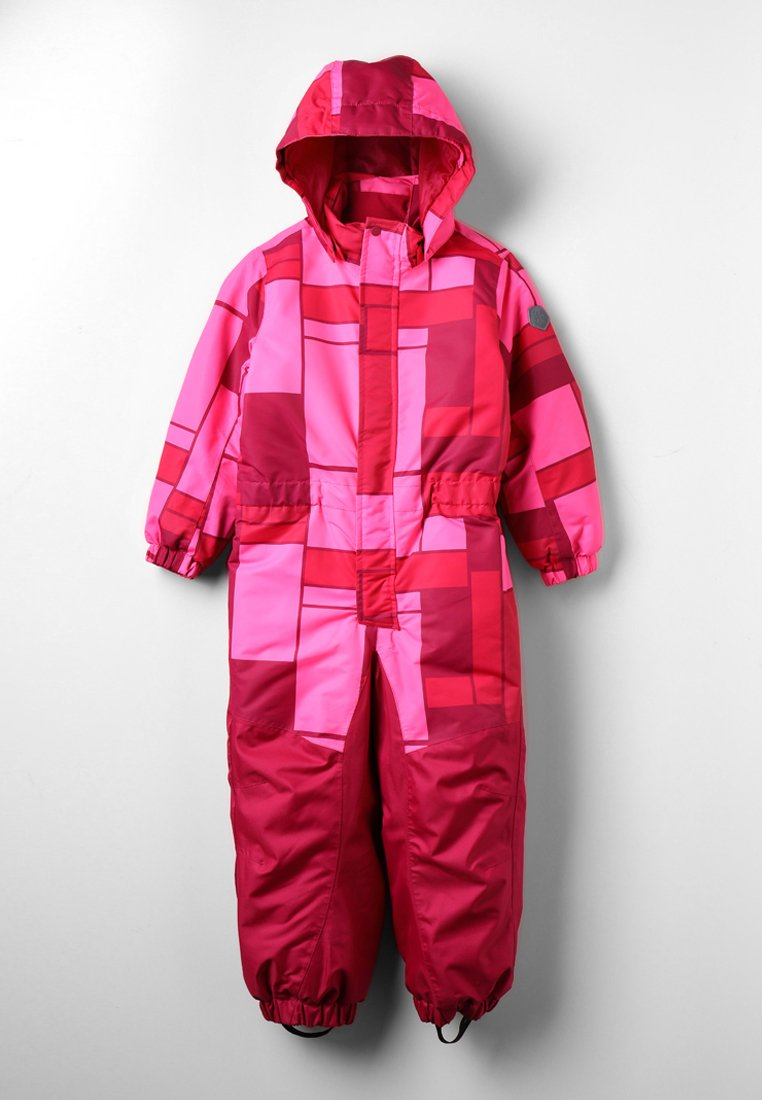 Color Kids - KLEMENT PADDED COVERALL  - Schneeanzug - sparkling cosmo