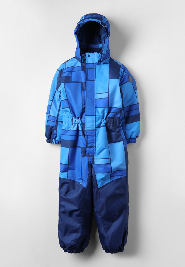 Color Kids - KLEMENT PADDED COVERALL  - Snowsuit - blue sea
