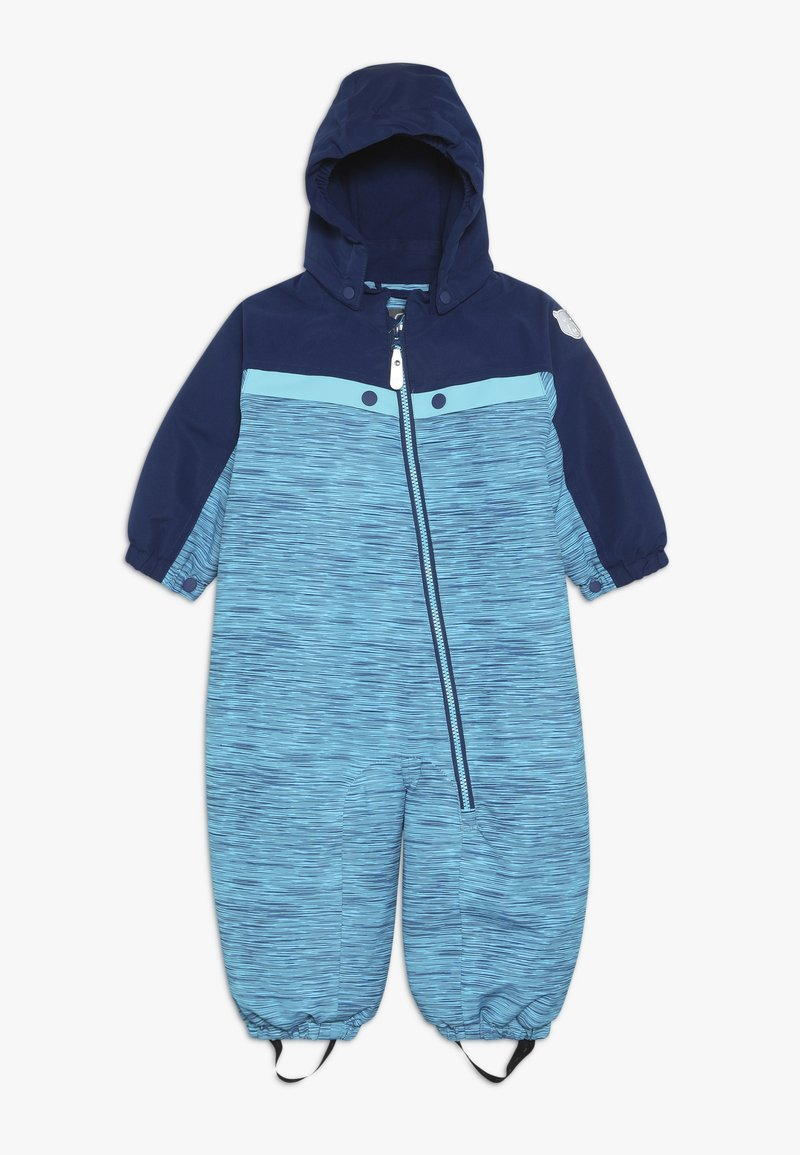 Color Kids - DOLPA MINI PADDED COVERALL - Tuta da neve - estate blue