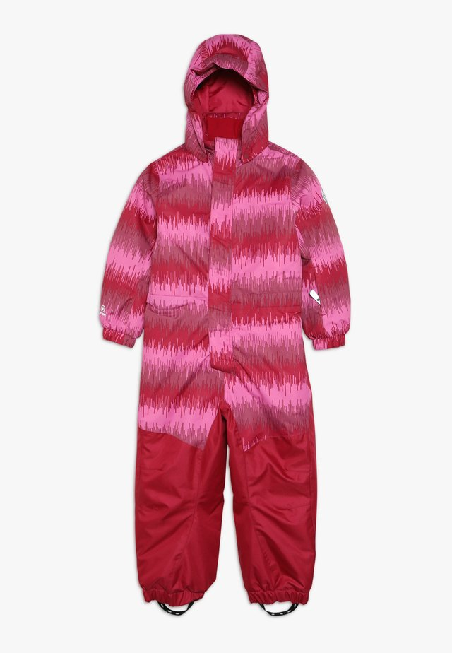 KLEMENT PADDED COVERALL - Snowsuit - raspberry
