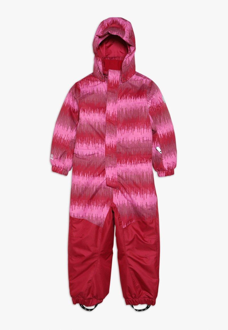Color Kids - KLEMENT PADDED COVERALL - Skipak - raspberry