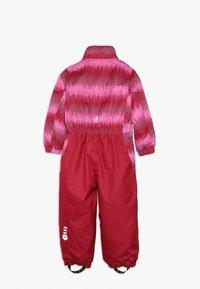 Color Kids - KLEMENT PADDED COVERALL - Skipak - raspberry - 2