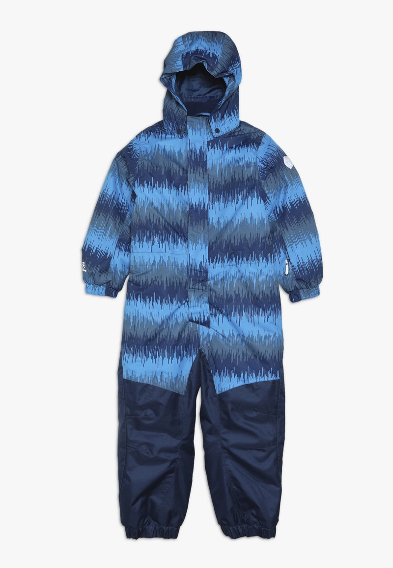 Color Kids - KLEMENT PADDED COVERALL - Schneeanzug - estate blue