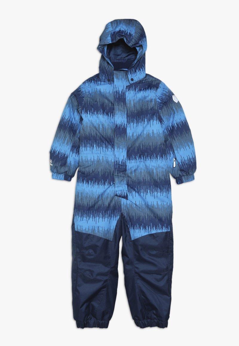 Color Kids - KLEMENT PADDED COVERALL - Spodnie narciarskie - estate blue