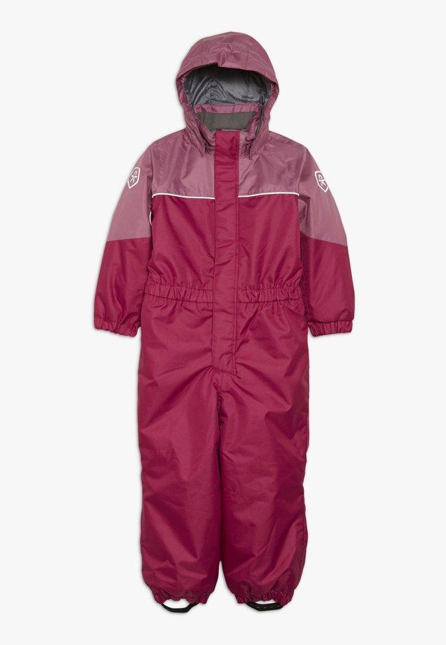 KAZOR PADDED COVERALL - Combinaison de ski - raspberry