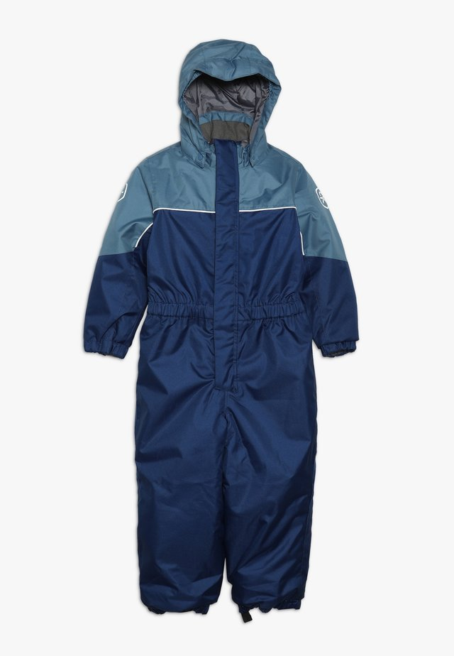 KAZOR PADDED COVERALL - Snowsuit - estate blue