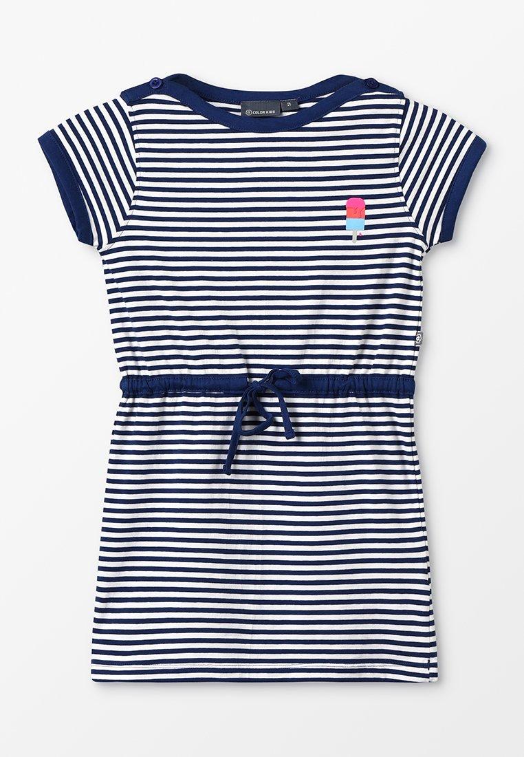 Color Kids - NILJA DRESS - Vestido de deporte - estate blue